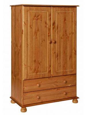 Copenhagen Pine 2 Door 2 Drawer Combi Robe