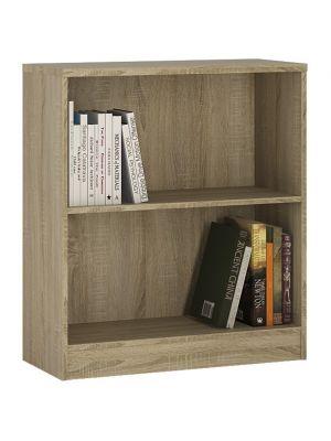 4 You Sonama Oak Low Wide Bookcase