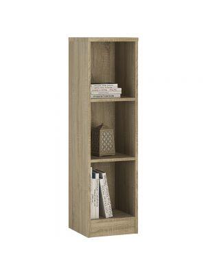 4 You Sonama Oak Medium Narrow Bookcase