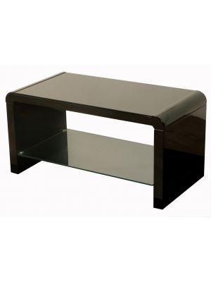 Atlantis Clarus High Gloss Black Coffee Table