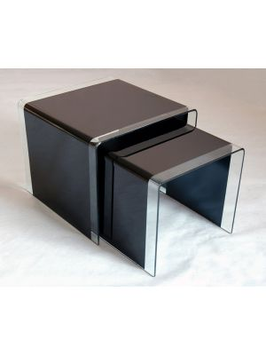 Angola Black Nest of Tables