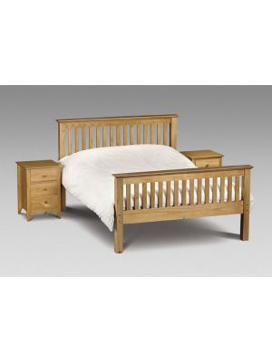 Barcelona Double Bed with High Foot End
