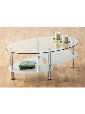 Cara Clear Coffee Table