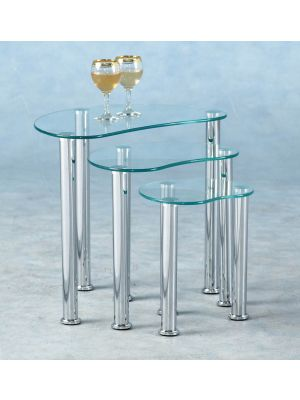 Cara Clear Nest Of Tables