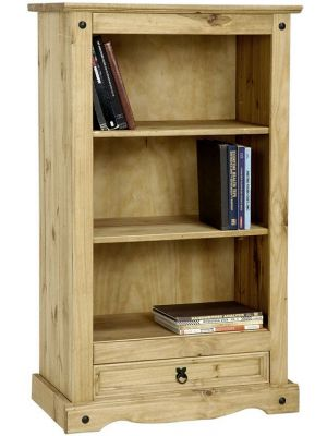 Corona 1 Drawer Low Bookcase