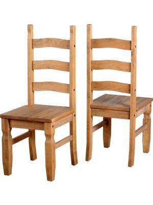 Corona Dining Chairs (Pair)
