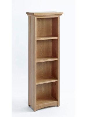 Cambridge Oak 3 Shelf CD/DVD Storage Unit