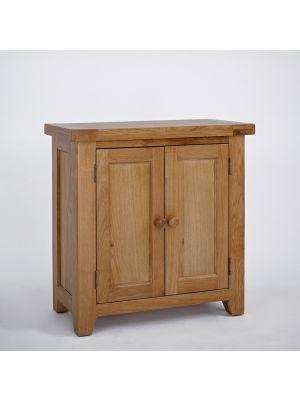 Devon Oak 2 Door Cupboard