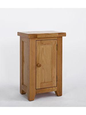 Devon Oak 1 Door Cupboard