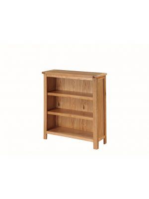 Hartford City Oak Low Bookcase