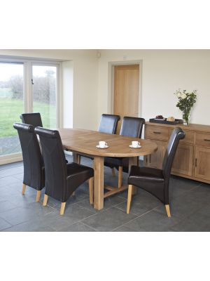 Hampshire Oval Extending Dining Set