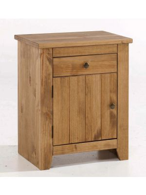 Havana Pine Bedside Cabinet