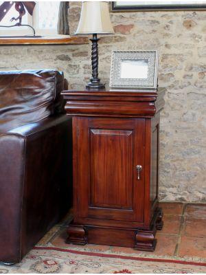 La Roque Lamp Table / Pot Cupboard