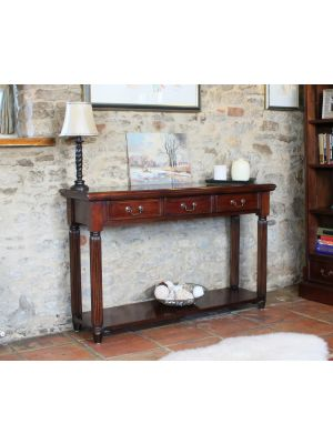 La Roque Console / Hall Table (With Drawers)