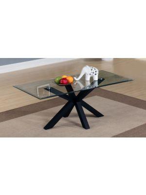 Langley High Gloss Black Coffee Table