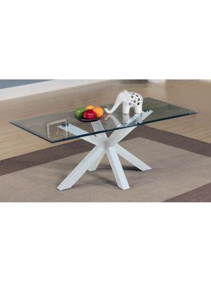 Langley High Gloss White Coffee Table