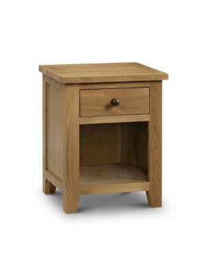 Marlborough 1 Drawer Bedside Cabinet