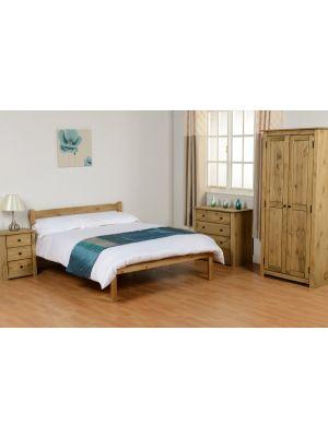 Panama Pine Double Bed