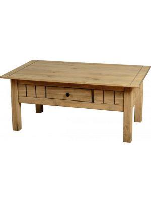 Panama Pine 1 Drawer Coffee Table
