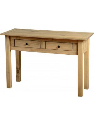 Panama Pine 2 Drawer Console Table