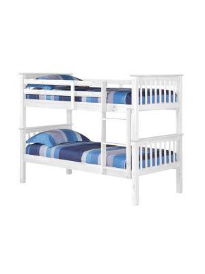 Porto White Bunk Bed