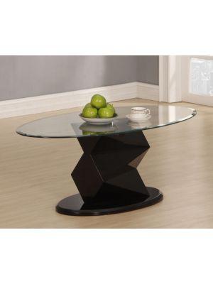 Rowley High Gloss Black Coffee Table