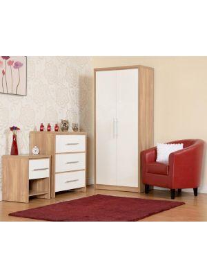 Seville White Bedroom Set