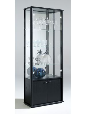 Selby 2 Door Display Unit with Base