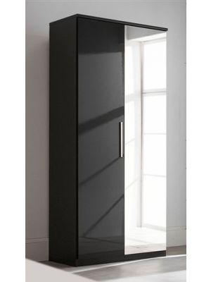 Topline High Gloss 2 Door Wardrobe