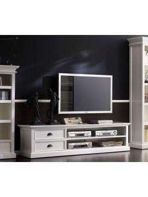 Whitehaven Painted Large TV Unit
