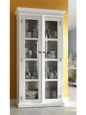 Whitehaven Painted Glazed Display Cabinet