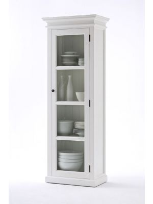 Whitehaven Painted Single Glazed Display Cabinet