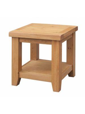 Acorn Solid Oak Lamp Table