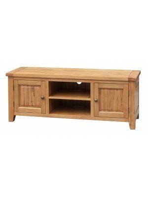 Acorn Solid Oak Straight TV Unit