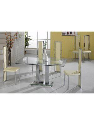 Ankara Glass Dining Set