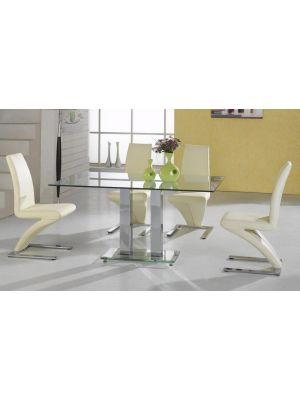 Ankara Z Chairs 4 Seater Dining Set