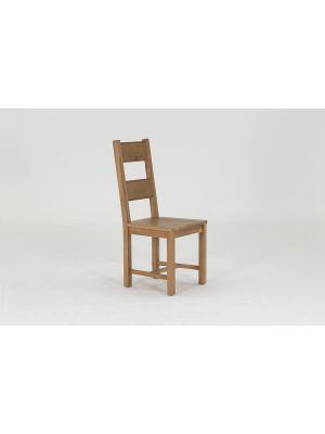 Breeze Solid Seat Dining Chairs (Pair)