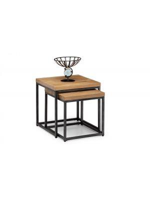 Brooklyn Oak Nesting Lamp Tables