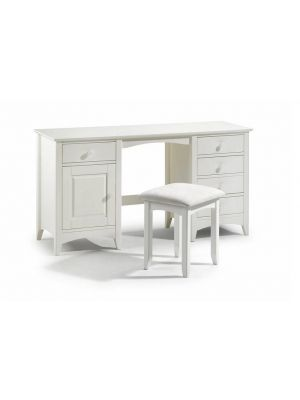 Cameo Twin Pedestal Dressing Table with Stool