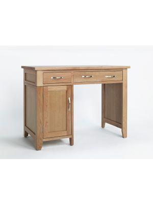 Cambridge Oak Single Pedestal Desk