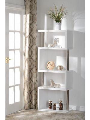 Charisma White 5 Shelf Unit