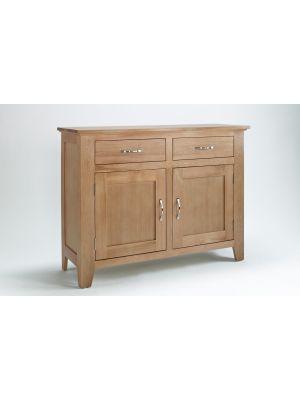 Cambridge Oak 2 Door 2 Drawer Sideboard