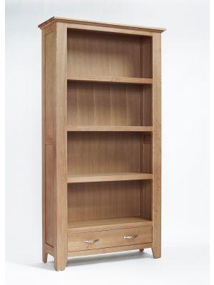 Cambridge Oak Large Bookcase