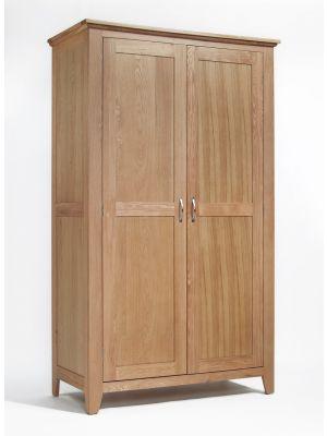 Cambridge Oak Full Hanging Wardrobe