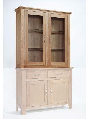 Cambridge Oak 2 Drawer Dresser Top