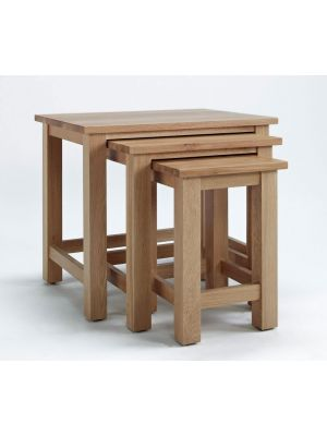 Cambridge Oak Nest of Tables