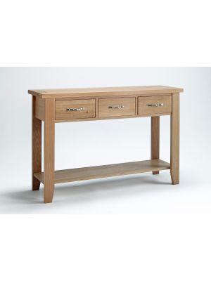 Cambridge Oak Large Console Table