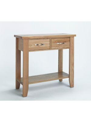 Cambridge Oak Small Console Table