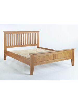 Cambridge Oak Double Bed