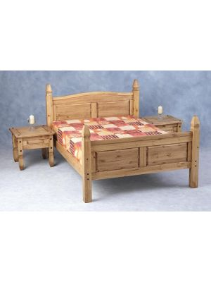 Corona Mexican King Size Bed